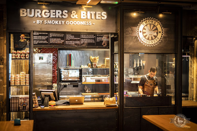 Burgers & BBQ Bitres outlet in The Hague