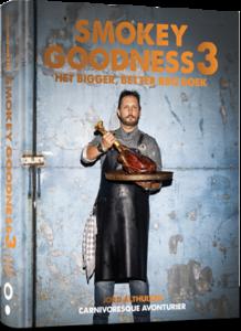 Smokey Goodness Bigger, better, BBQ boek