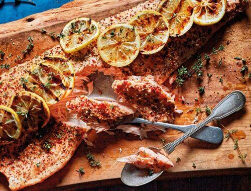 Hot smoked lemon-peppersalmon-header