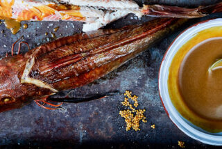 Smoked gurnard with Carolina Mustard sauce-header