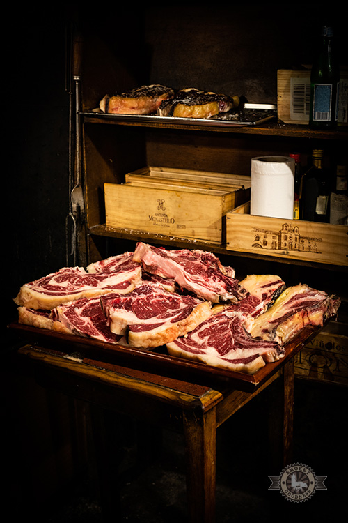 Baskische BBQ - A meat mountain