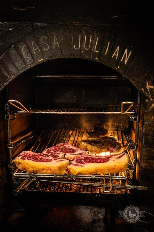 The fire pit @ Casa Julian