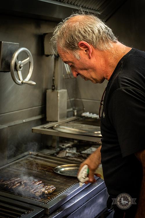 Head chef Victor Arguinzoniz