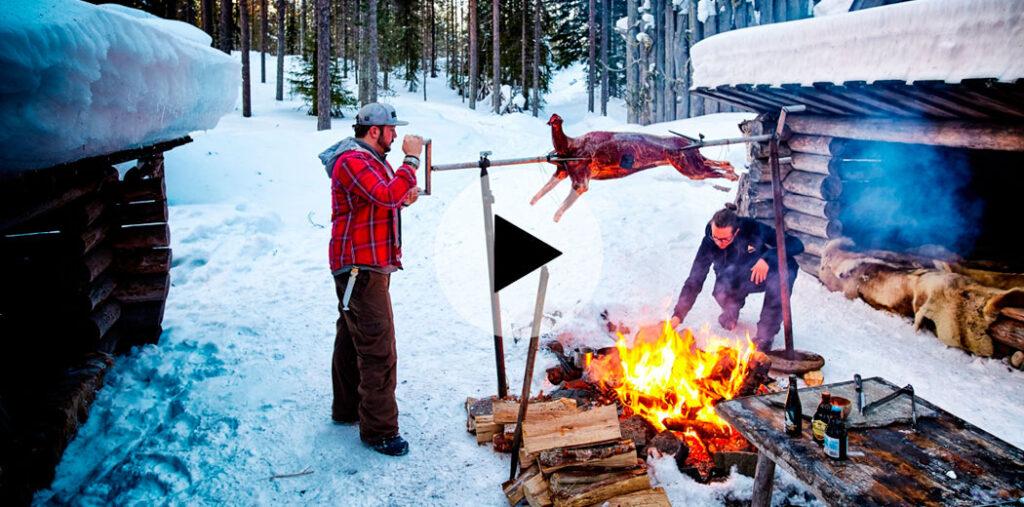Smokey Goodness winter bbq video