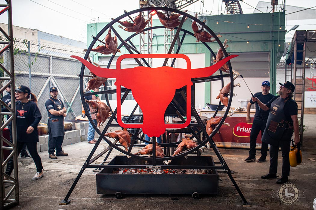 Churrascada wheel