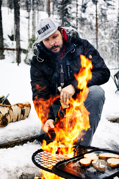 winter bbq with Jord Althuizen