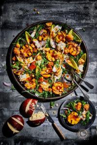Gegrilde perzik-&-burrata-salade-article