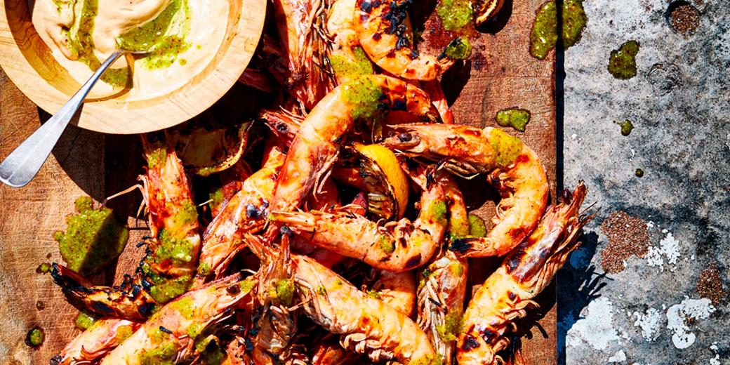 Shrimps on the barbie-header