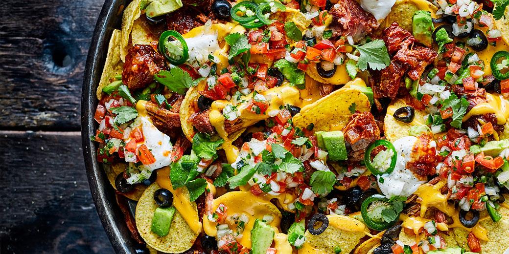 Pork carnita's nachos-header