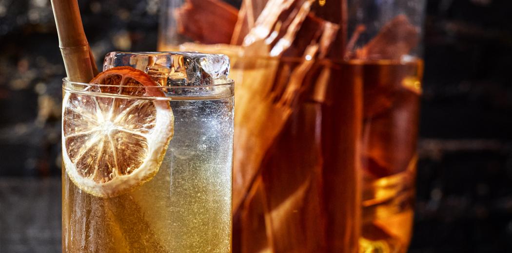 The Long Island Wood tea header